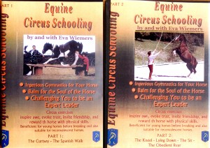 Eva Wiemers Part 1 and 2 : Equine Circus Schooling - auch auf deutsch!